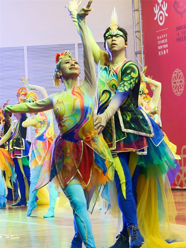 Художественный ансамбль провинции Цзилинь отправился в Замбию для проведения мероприятия культурного и туристического обмена «Веселый китайский новый год 2019»