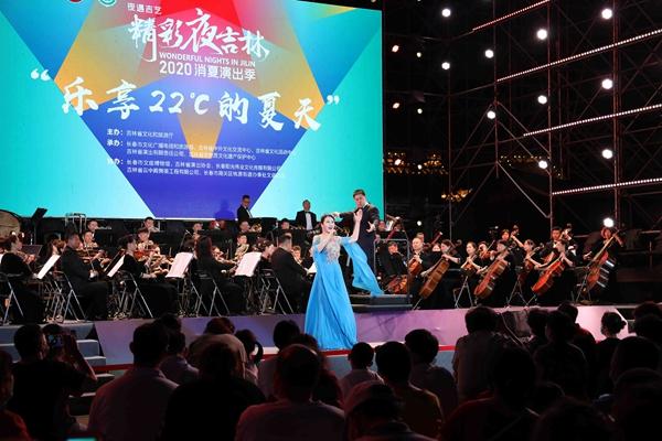 Симфонический оркестр провинции Цзилинь дал концерт в рамках фестиваля «Великолепные вечера в Цзилине. Лето 2020 года»
